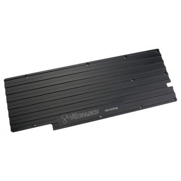 Back Plate for VID-NXTTNX Water Block (NVIDIA GeForce GTX 980 Ti, TITAN X Video Card)