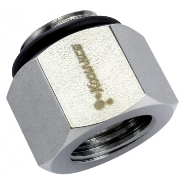 Threading Adapter, G 1/4 Male to NPT 1/4 Female, Stainless Steel