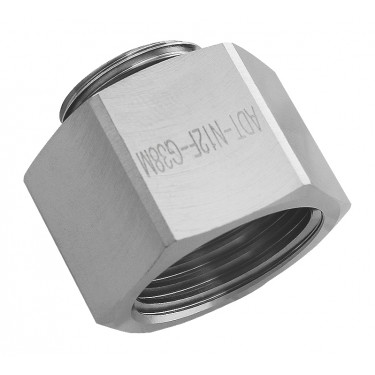 Threading Adapter, NPT 1/2 Female to G 3/8 Male