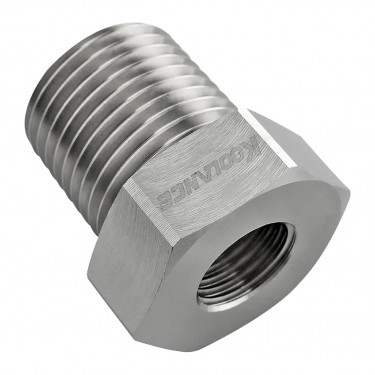 Threading Adapter, NPT 1/2 Male to G 1/4 Female