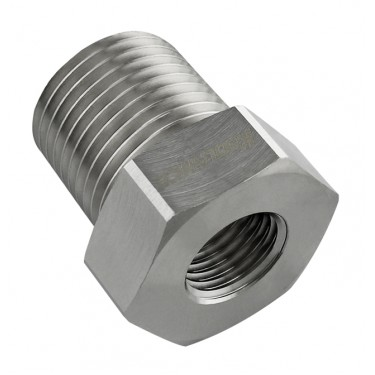 Threading Adapter, NPT 1/4 Female to NPT 1/2 Male