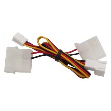 3-4pin Molex Power Adapter