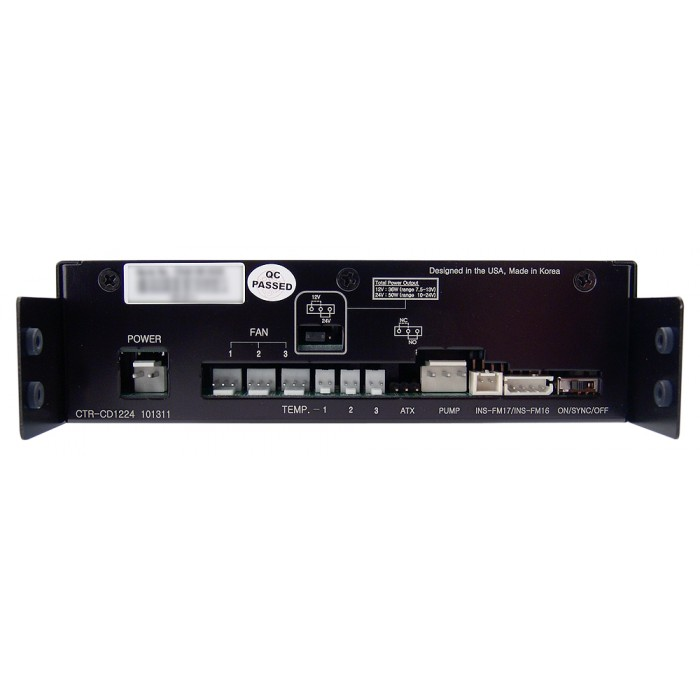 CTR-CD1224 12V or 24V Pump & Fan Controller With Display