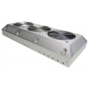EHX-1050SL External 1kW Radiator and Fans/Enclosure, Silver