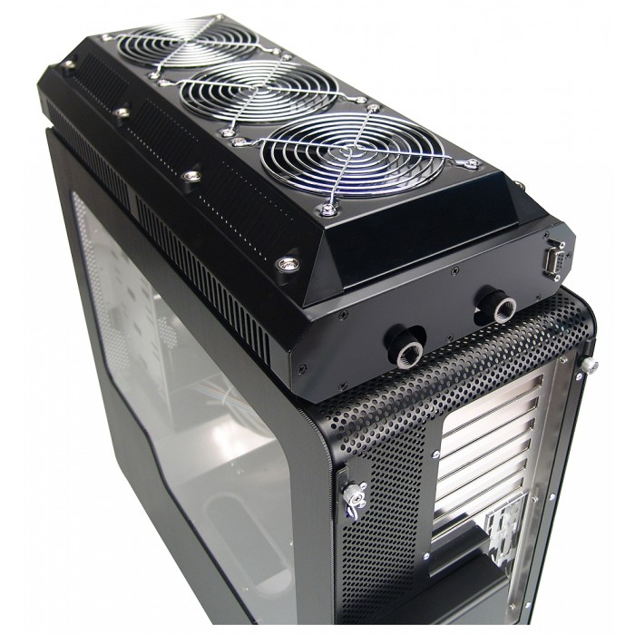 how to clean radiator pc