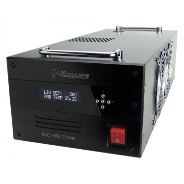 EXC-450 Portable 450W Recirculating Liquid Chiller, 24VDC (Ultra Compact)