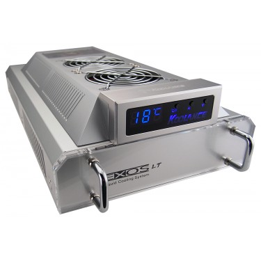 EXT-400SL-V2 (Exos-LT V2) Liquid Cooling System, Silver [06mm, 1/4in ID]