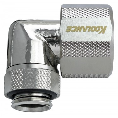 Rotary Elbow Compression Fitting for 10mm x 16mm (3/8in x 5/8in), G 1/4 BSPP