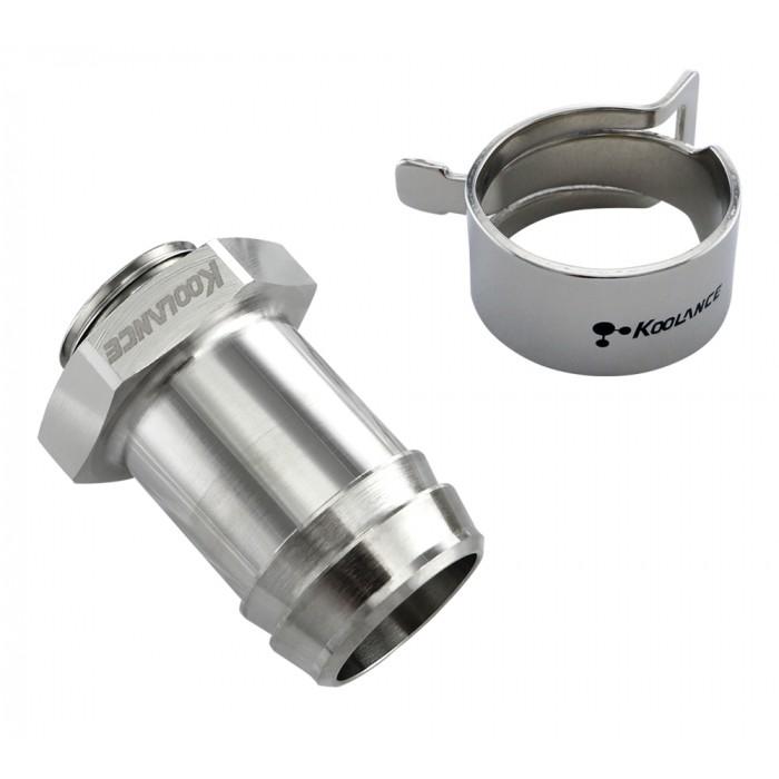 Nickel Koolance Hose Clamp for OD 19mm 3//4 10-Pack