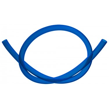Tubing, PVC Blue, Dia: 10mm x 13mm (3/8in x 1/2in), Ea: 305mm (1ft)