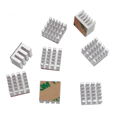 Video RAM Heat Sinks - 8 Pack