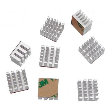 Video RAM Heat Sinks - 8 Pack
