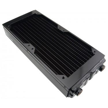 Radiator, 2x120mm 11-FPI Copper