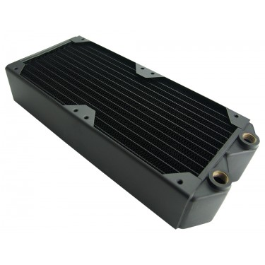 Radiator, 2x120mm Fans, 54mm Thick, 30-FPI Copper