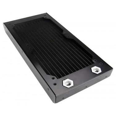 Radiator, 2x120mm 18-FPI Aluminum