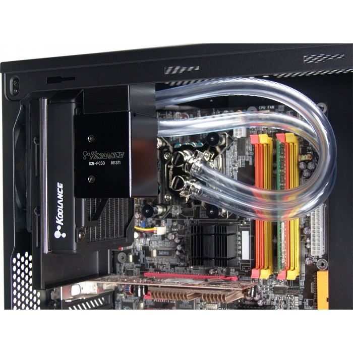 ICM-PC30A, DIY Liquid Cooling Kit for AMD, 30mm Radiator