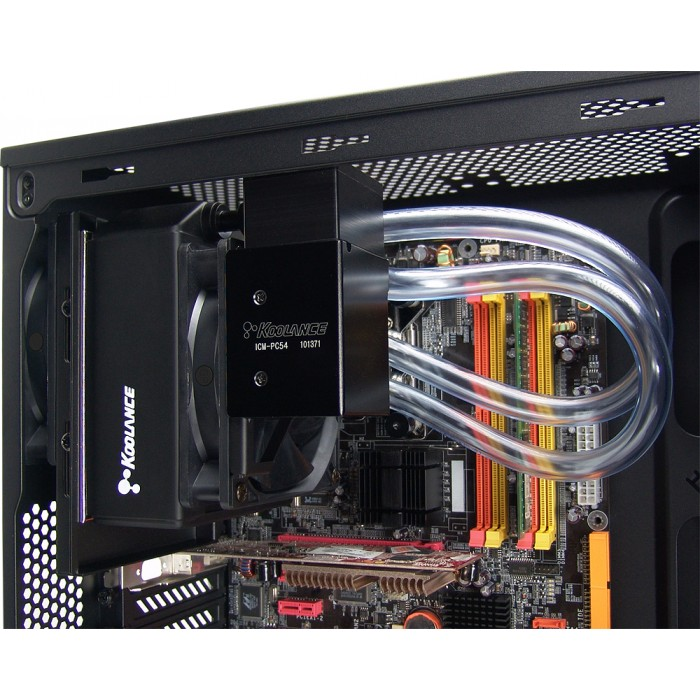 ICM-PC54A, DIY Liquid Cooling Kit for AMD, 54mm Radiator