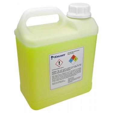 Koolance 702 Liquid Coolant, High-Performance, UV Yellow, 5000ml (169 fl oz)