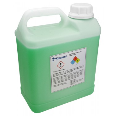 Koolance 702 Liquid Coolant, High-Performance, UV Green, 5000ml (169 fl oz)