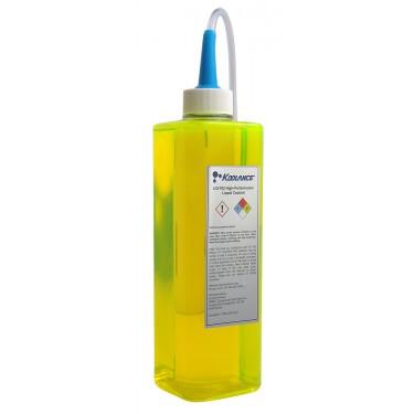 Koolance 702 Liquid Coolant, High-Performance, UV Yellow, 700ml (24 fl oz)