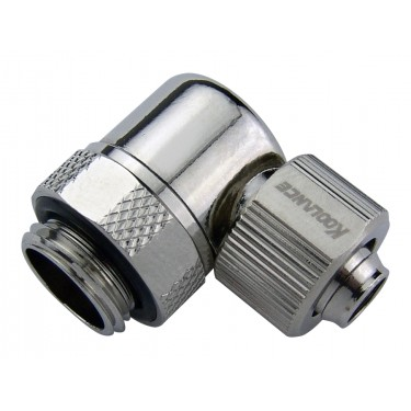 Rotary Elbow Compression Fitting for 06mm x 10mm (1/4in x 3/8in)