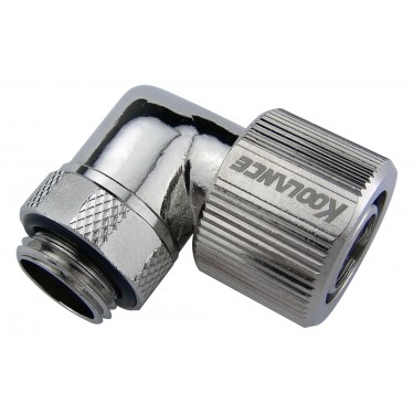 Rotary Elbow Compression Fitting for 10mm x 13mm (3/8in x 1/2in), G 1/4 BSPP