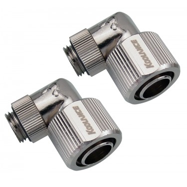Fitting Pair, Swivel Angled for 13mm x 16mm (1/2in x 5/8in)