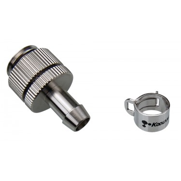 Swivel/Lock Barb Fitting for ID 06mm (1/4in), G 1/4 BSPP
