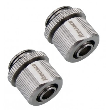 Fitting Pair, Compression for 06mm x 10mm (1/4in x 3/8in)