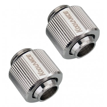 Fitting Pair, Compression for 10mm x 13mm (3/8in x 1/2in)
