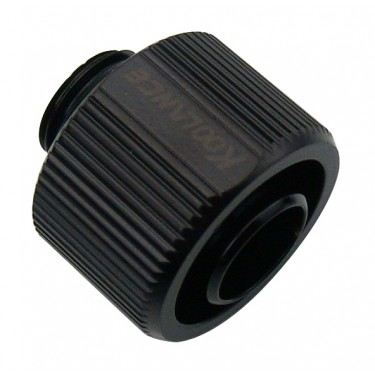 Compression Fitting *Black* for 13mm x 19mm (1/2in x 3/4in), G 1/4 BSPP