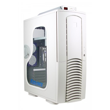 PC2-601W Liquid Cooling System, White [06mm, 1/4in]
