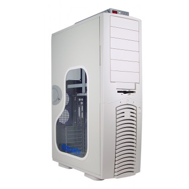PC2-901W Liquid Cooling System, White [06mm, 1/4in]