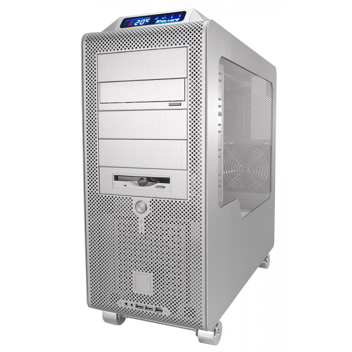 PC3-725SL Liquid Cooling System, Silver [10mm, 3/8in ID]
