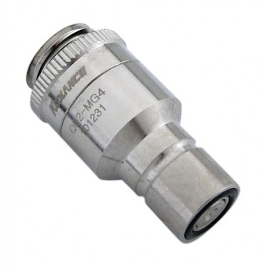 QD2 Male Quick Disconnect No-Spill Coupling, Male Threaded G 1/4 BSPP