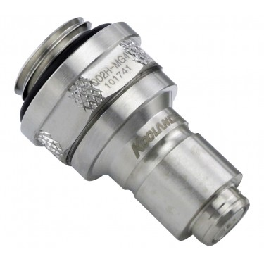 QD2H Male Quick Disconnect No-Spill Coupling, Male Threaded G 1/4 BSPP