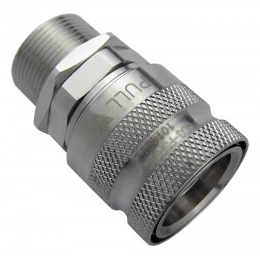 QD3 Female Quick Disconnect No-Spill Coupling, Panel Female Threaded G 1/4 BSPP