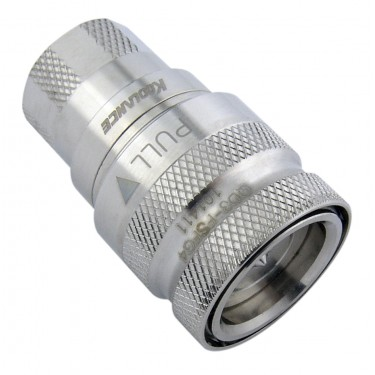 QD3 Female Quick Disconnect No-Spill Coupling, Female Threaded G 1/4 BSPP