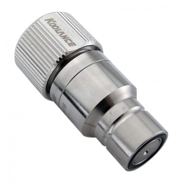 QD3 Male Quick Disconnect No-Spill Coupling, Compression for 13mm x 16mm (1/2in x 5/8in)