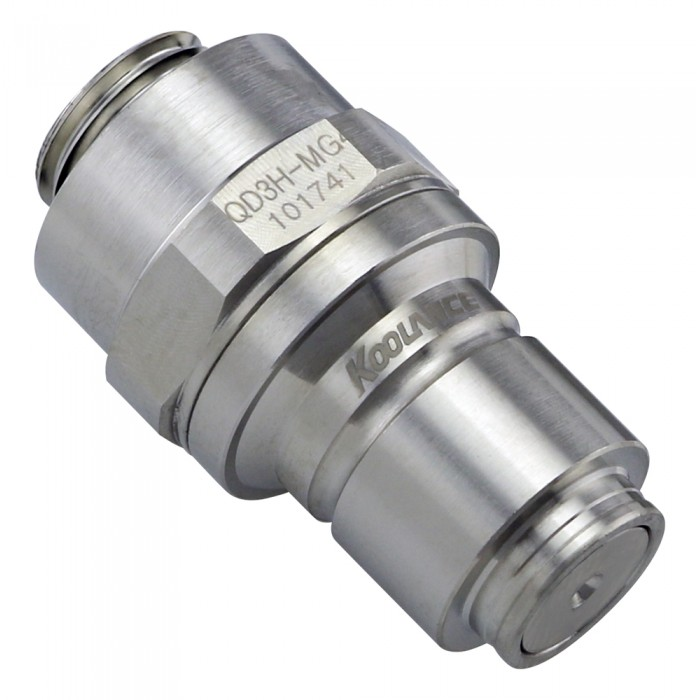 New Koolance Quick Disconnect Fittings 10mm Water Cooling High Pressure QD3H
