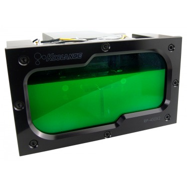 RP-450X2 Dual 5.25in Reservoir for 1-2 PMP-450/S Pumps