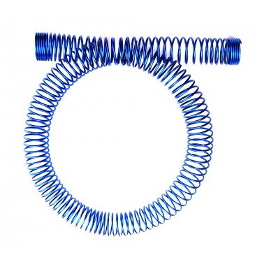 Tubing Spring Wrap, Steel Blue for OD 13mm (1/2in)