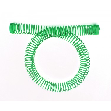 Tubing Spring Wrap, Steel Green for OD 13mm (1/2in)