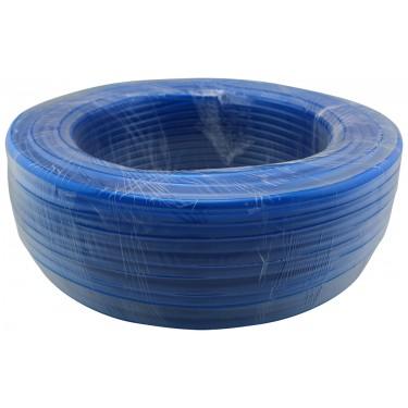 Tubing Roll, PVC Blue, Dia: 13mm x 16mm (1/2in x 5/8in), Ea: 100m (328ft)