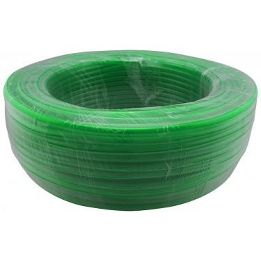 Tubing Roll, PVC Green, Dia: 10mm x 13mm (3/8in x 1/2in), Ea: 100m (328ft)