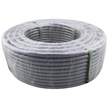 Tubing Roll, PVC Silver, Dia: 10mm x 13mm (3/8in x 1/2in), Ea: 100m (328ft)