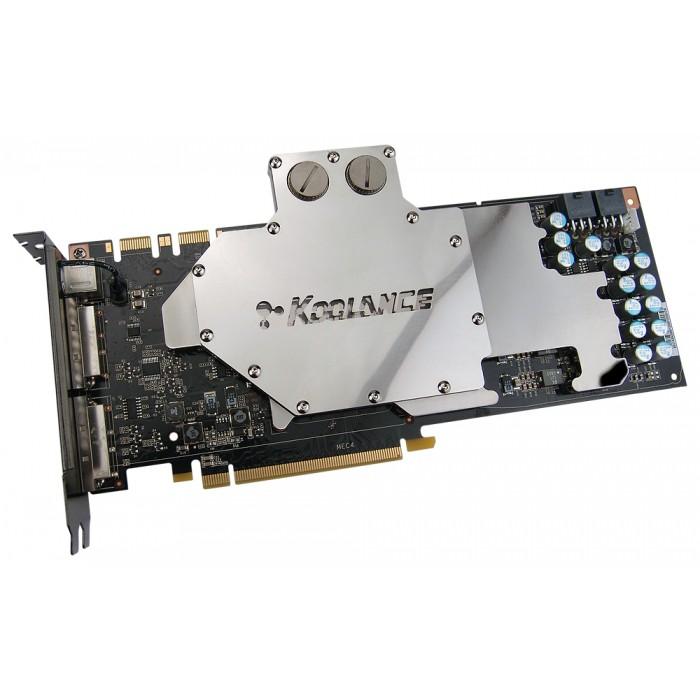 VID 398 Water Block NVIDIA GeForce 9800 GTX Video Card