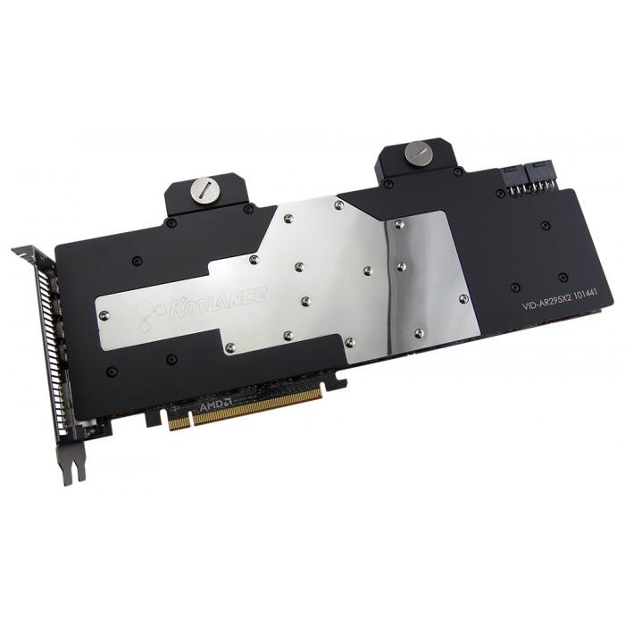 VID-AR295X2 Water Block (AMD Radeon R9 295X2)