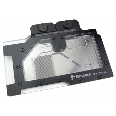 VID-NX1080 Water Block, Acrylic (NVIDIA GeForce GTX 1080 and 1070 Video Cards)