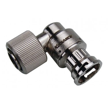 VL3 Quick Disconnect Low-Spill Coupling, Female Angle for 13mm x 16mm (1/2in x 5/8in)